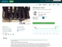 Ethereum farm value $5.55